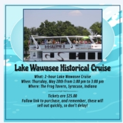 Lake Wawasee Historical Cruise