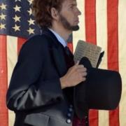 Danny Russel as Abe Lincolon